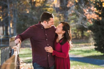 Katherine + Ryan's West Hartford Engagement Session